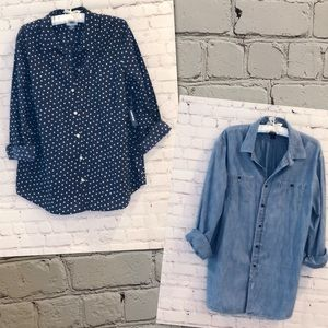 2 Old Navy Button Down Shirts